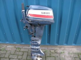 W.B.R Outboard Engines Yamaha 15 hp 2 stroke fore sale