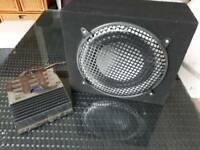 In Car sub and amp