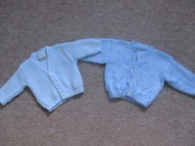 Newborn knitted cardigans boys