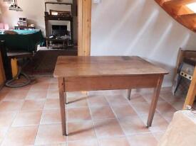 Kitchen pine table