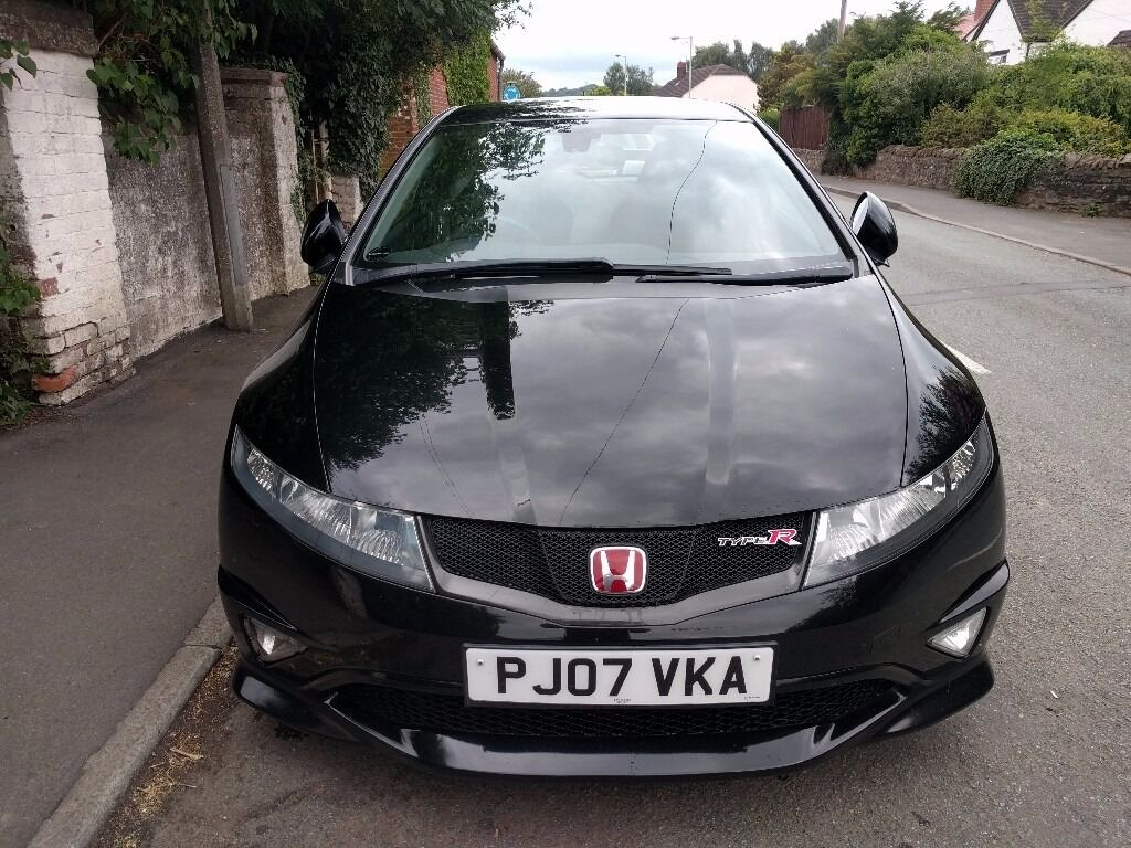 2007 honda civic type r gt fn2 black cheap quick sale. Black Bedroom Furniture Sets. Home Design Ideas