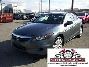 2012 Honda Accord EX L COUPE 4CYL MAG SROOF GR ELECT CUIR SIEGE