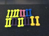 Handweights/dumbells
