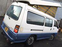 MITSUBISHI DELICA L300 4BERTH CAMPER 2.4 DIESEL AUTO ONLY 80K BONGO GRANVIA VW T4 T5 REGIUS TOYOTA