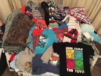 49 items Bundle of boys clothes, 12-18 months