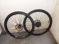 MTB bicycle wheel set(disc brakes)