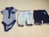 44 items babyboy mixed sizes clothes