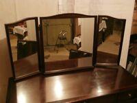 Stag Minstrel Triple Mirror