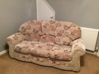 3 piece suite - sofa & 2 armchairs