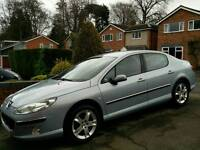 Peugeot 407 2.0 SE with 12 Months MOT, New battery and tyres!