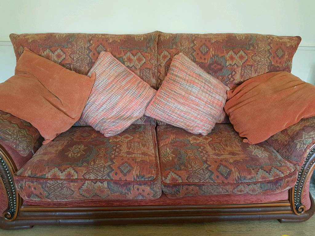 Terracotta 3 piece suite