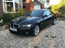 BMW 320d coupe m sport 2009 manual