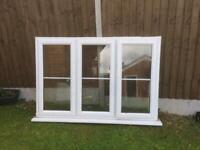 UPVC double glazed window (used)