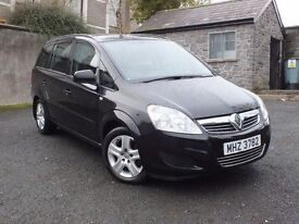 Oct 2009 Vauxhall Zafira 1.6 Exclusive 7 seats,trade in considered, credit cards & Euros accepted