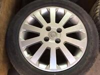 Vauxhall wheels for sale