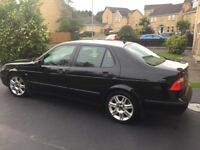 Black Saab 9-5, Full year's MOT, Low Mileage
