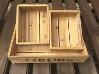 New storage seed trays £10