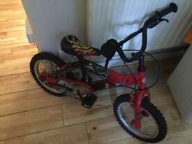 Power ranger red bike