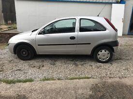 Vauxhall Corsa **Spares or Repair**Auto**66,000 miles