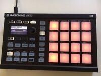 Native Instruments Maschine Mikro MK2 Groove Production Studio (Black))