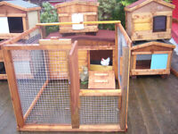 chicken coops timber/ or external plastic 7days glasgow worth viewing