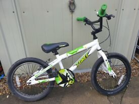 Kids bike, Apollo Force Kids Bike - 18 inch Wheel (hardly used)