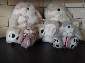 SELECTION OF RABBIT SOFT TOYS IDEAL AS EASTER GIFT INCL ORIGINAL THUMPER X 3