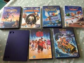 7 x mixed Disney dvds