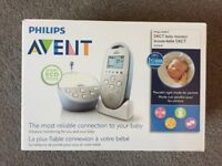 Phillips Advent baby monitor. RRP £120