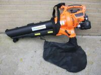 Petrol Leaf blowers & vac, with quick lever operation and easier for left sided users