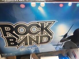 Rock band drum set Xbox 360