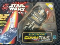 STAR WARS ELECTRONIC COMM TALK READER