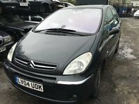 2004 CITROEN XSARA PICASSO EXCLUSIVE HDI (MANUAL DIESEL)- FOR PARTS ONLY
