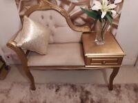 Stunning Telephone Seat / Chair