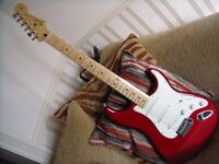 FENDER STRATOCASTER electric Guitars 2003 2010 Choice of MIM super condition £250 each