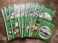 22 x MOTOR SPORT Magazines, 1957- 58 & 1960. Includes: U.S. G/P British G/P French Jaguar XK150S