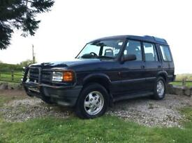 Land Rover Discovery TDI 87k low mileage - history 2 owners