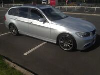 BMW touring 320d 2006 long mot lovely car /// may Px swap x5 Honda Audi A4 fast rwd or cash