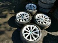 BMW 17 INCH ALLOY WHEELS WILL FIT VIVARO TRAFFIC PRIMASTAR