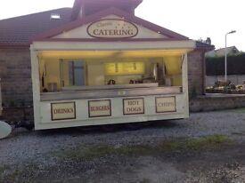 Fully functional catering trailer (16') plus Mercedes van and generator