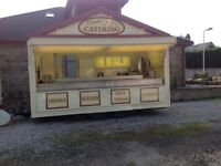 Fully functional catering trailer (16') plus Mercedes van and generator