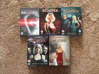 Battlestar Galactica Series 1-4 plus extra DVD
