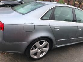 Stunning cheap car Audi A4 top of the range full year MOT and S/H