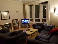 Double bedroom in a spacious flat in Mount Florida, South side of Glasgow