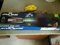 Star wars light saber room light Luke Skywalker edition brand new