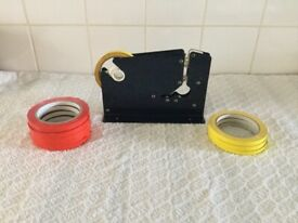 Bag sealer with 9 rolls of tape, ideal for freezing portioning,keeping items fresh tidy & organised