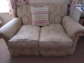 Bargain.gold two seater sofa excellent condition £15
