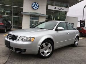 2005 Audi A4 1.8T/LTHR/SUNROOF/GREAT DEAL!