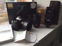 Nikon D7000 Lenses And Flash Bundle