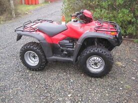 Road Registered ATV TRX HONDA